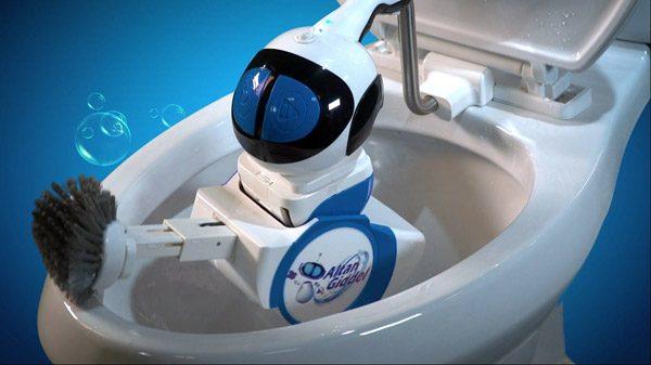 Giddel: de robot die je toilet schoonmaakt