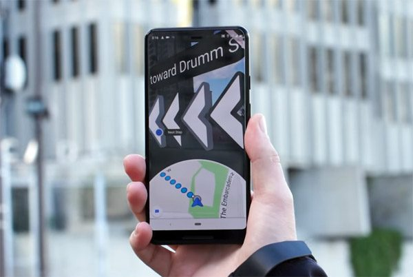 Er komen steeds augmented reality functies in Google Maps