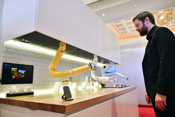 Samsung heeft robotarmen voor in de keuken ontwikkeld