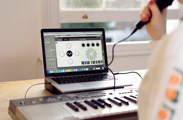Met Dubler gebruik je jouw stem als MIDI-controller