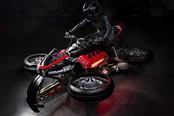 Moto Volante: een motor waarmee je tevens kunt vliegen