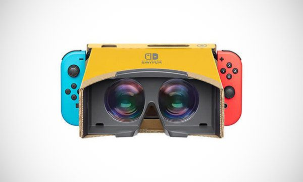 Nintendo Labo: virtual reality op de Switch