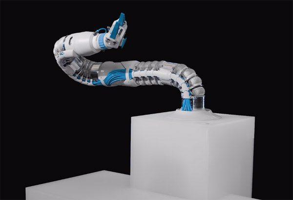 Deze zachte robotarm maakt gebruik van lucht om te bewegen
