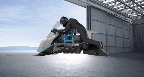 Speeder: een vliegende motorfiets met straalmotoren