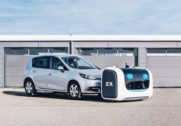 Op het vliegveld van Lyon parkeren robots jouw auto