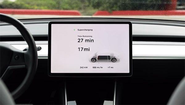 Nieuwe Supercharger van Tesla laadt auto's aanzienlijk sneller op