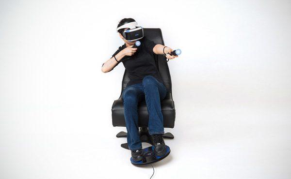 3dRudder: een controller voor PS VR die je bestuurt met je voeten
