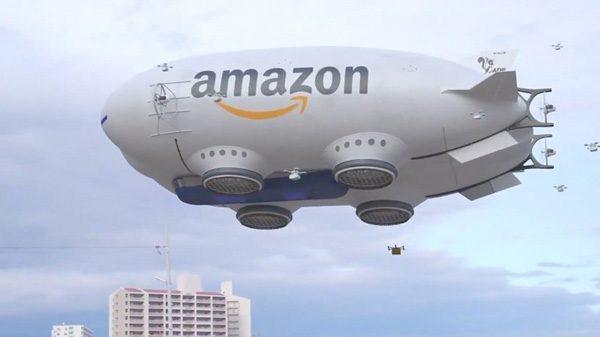 De toekomst van pakketbezorging volgens Amazon