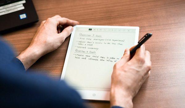 E-Pad: een Android-tablet met een e-ink scherm waarop je kunt schrijven