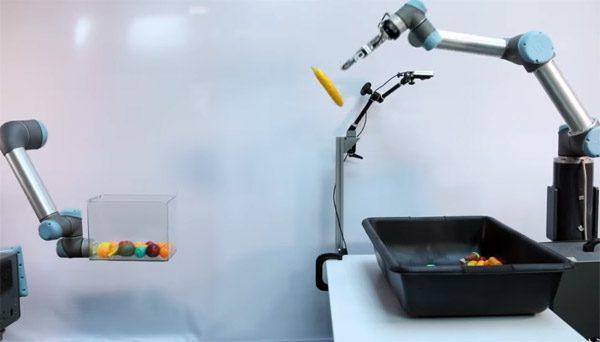 TossingBot: de robot die beter gooit dan jij en ik