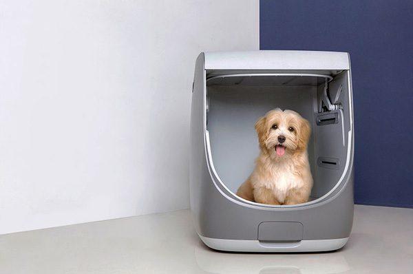 Pet Styler: geautomatiseerde wasmachine voor huisdieren