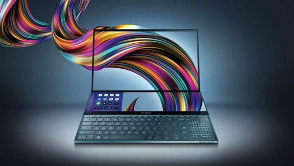 Nieuwe laptop van Asus heeft extra scherm boven het toetsenbord