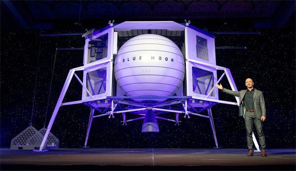 Dit is de maanlander van Amazon-baas Jeff Bezos