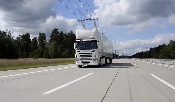 De eerste eHighway in Duitsland is in bedrijf