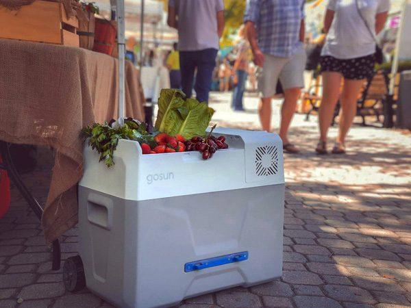 GoSun Chill: een koelbox met zonnepanelen