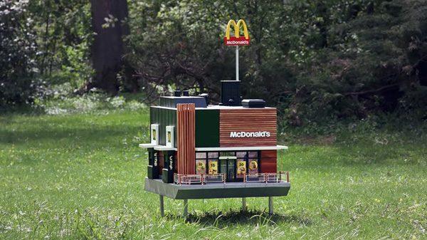 McDonald's heeft een mini-restaurant voor bijen geopend