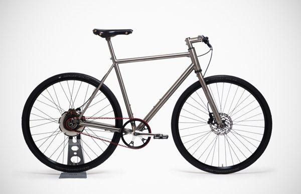 De Nua Electrica elektrische fiets hoef je nooit op te laden