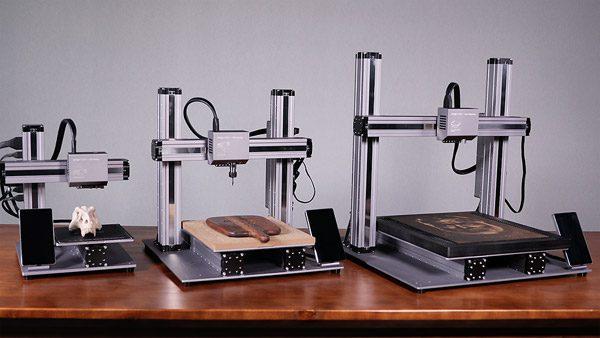 Nieuwe Snapmaker is 3D-printer, lasergraveerder en freesmachine