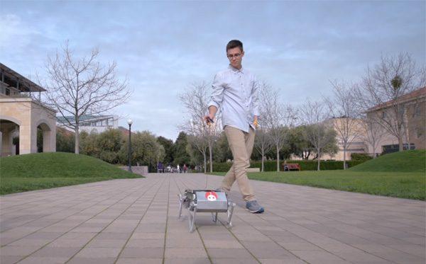 De open-source concurrent van Spot de robothond