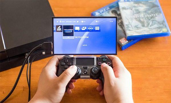 Topo: een scherm voor op je PS4-controller