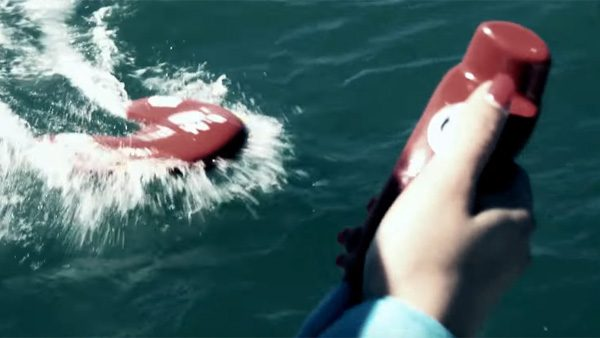U-Safe: een op afstand bestuurbare reddingsboei