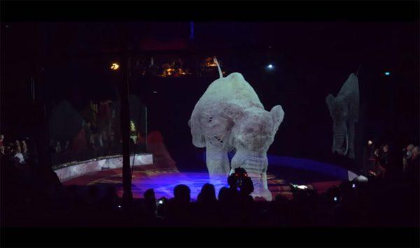 Duits circus vervangt alle dieren door hologrammen