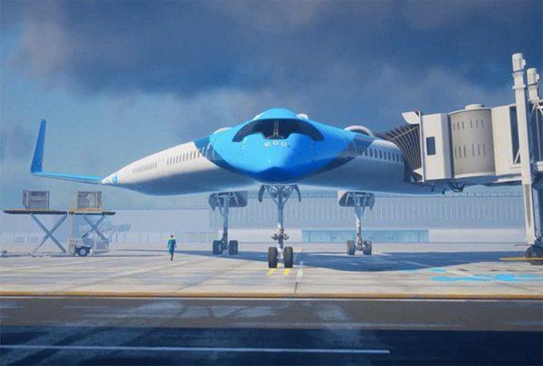 KLM en de TU Delft ontwikkelen het vliegtuig van de toekomst
