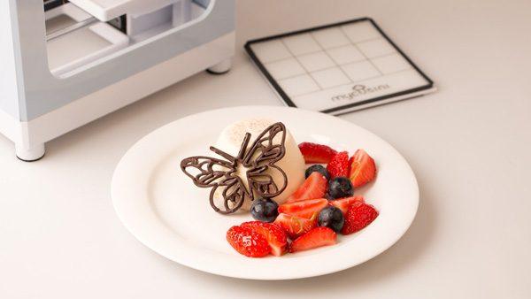 Een betaalbare 3D-printer voor chocolade heeft succes op Kickstarter