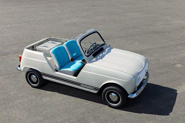 De elektrische Renault E-Plein-Air is de perfecte strandauto