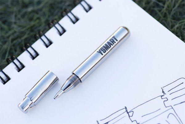 Tipen: waarschijnlijk de ultieme draagbare pen