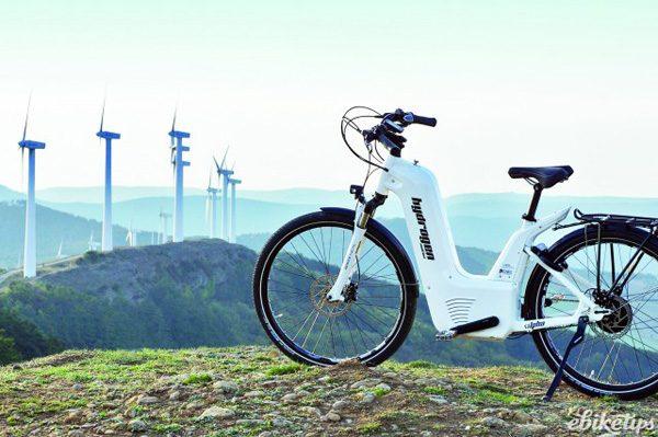 Alpha Bike: een fiets met een brandstofcel en een enorm bereik