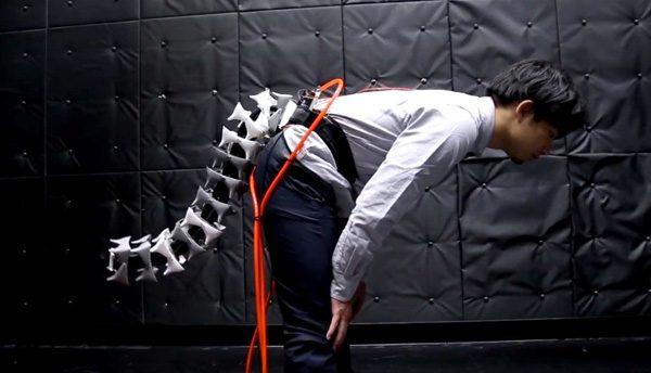 Japanse wetenschappers ontwikkelen robotstaart voor mensen