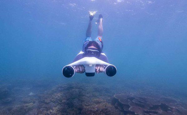 Asiwo Turbo Seascooter: de snelste onderwater-scooter