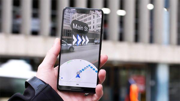 Nooit meer verdwalen dankzij Google Maps met augmented reality