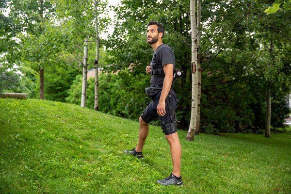 Harvard heeft een elektronische broekje ontwikkeld dat je langer laat rennen