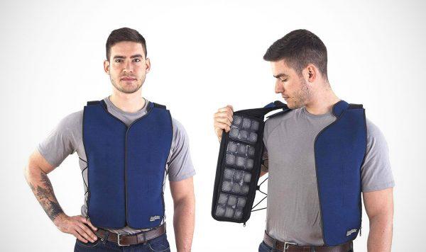FlexiFreeze: een vest met ijsvakken voor bloedhete dagen