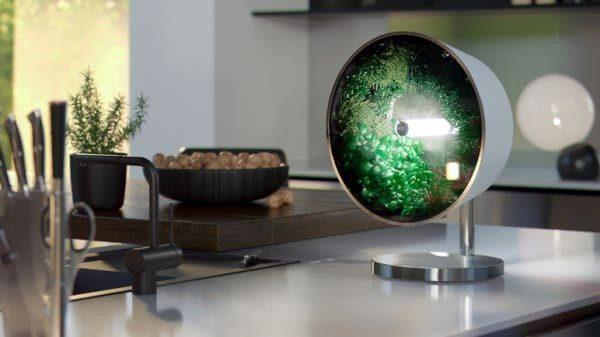 Rotofarm: een designobject waarin je zelf voedsel verbouwt