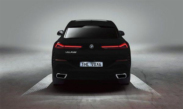 BMW heeft een met Vantablack gekleurde X6 ontwikkeld