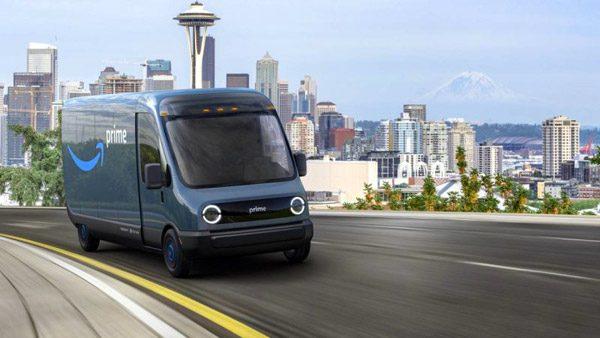 Amazon bestelt 100.000 elektrische busjes bij startup Rivian