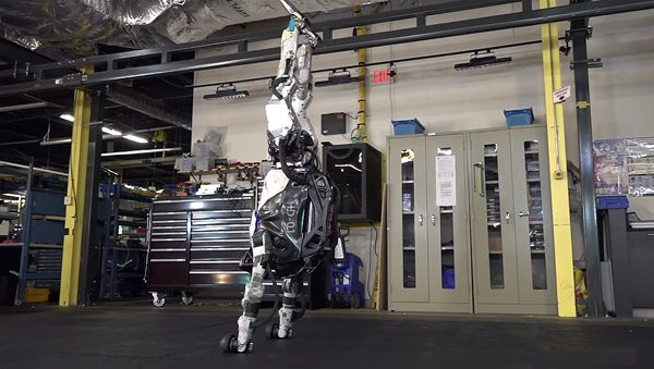 De Atlas robot is inmiddels zeer goed in gymnastiek