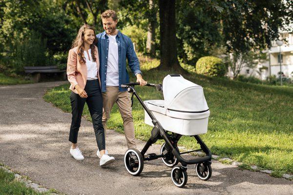 Bosch heeft de aandrijving voor een elektrische kinderwagen ontwikkeld
