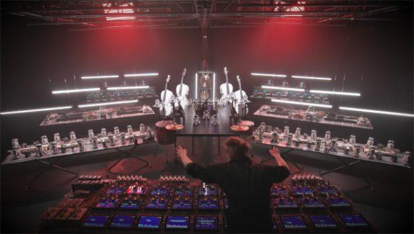 LEGO ontwikkelt een elektronisch orkest met Star Wars robots