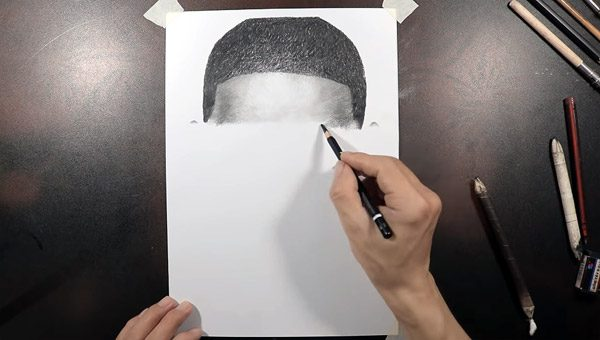 Deze YouTuber tekent als een printer