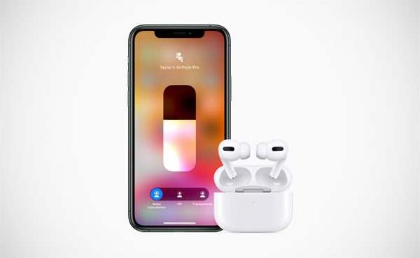 AirPods Pro van Apple beschikken over noise-cancelling