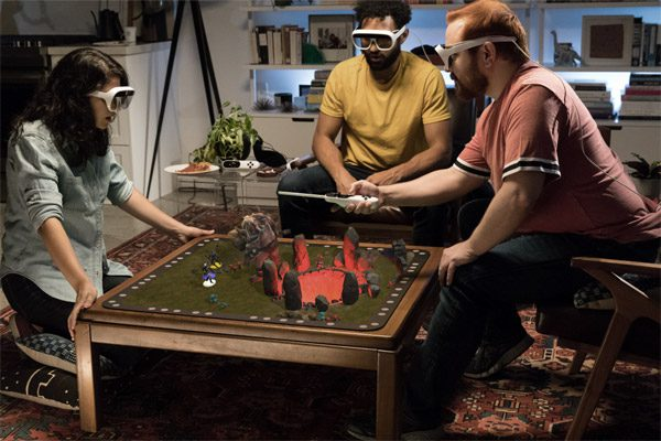 Tilt Five combineert bordspellen met augmented reality