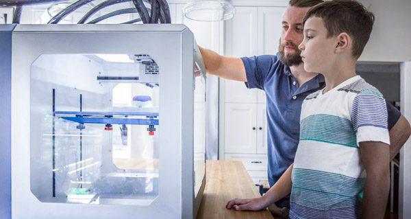 Eforge: een 3D-printer waarmee je ook elektronica kunt printen