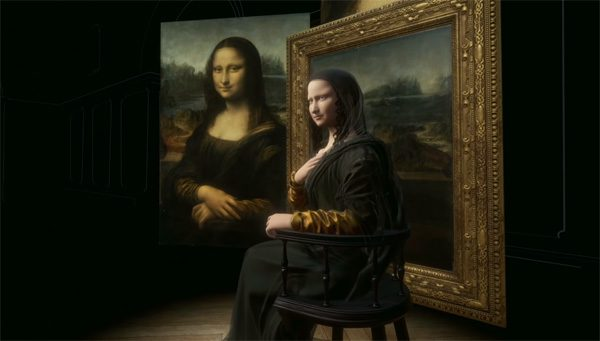 De Mona Lisa is nu in virtual reality te bekijken