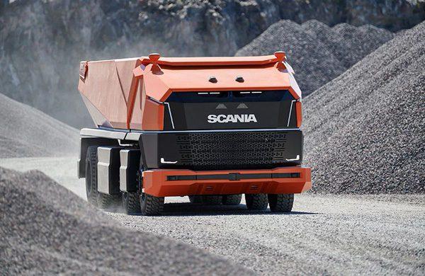 Scania AXL: een autonome vrachtwagen zonder zitplek voor bestuurders