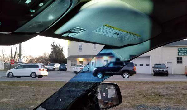 Jonge uitvindster bedenkt oplossing voor extra zicht in de auto