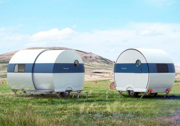 Beauer 2X: een telescopische caravan